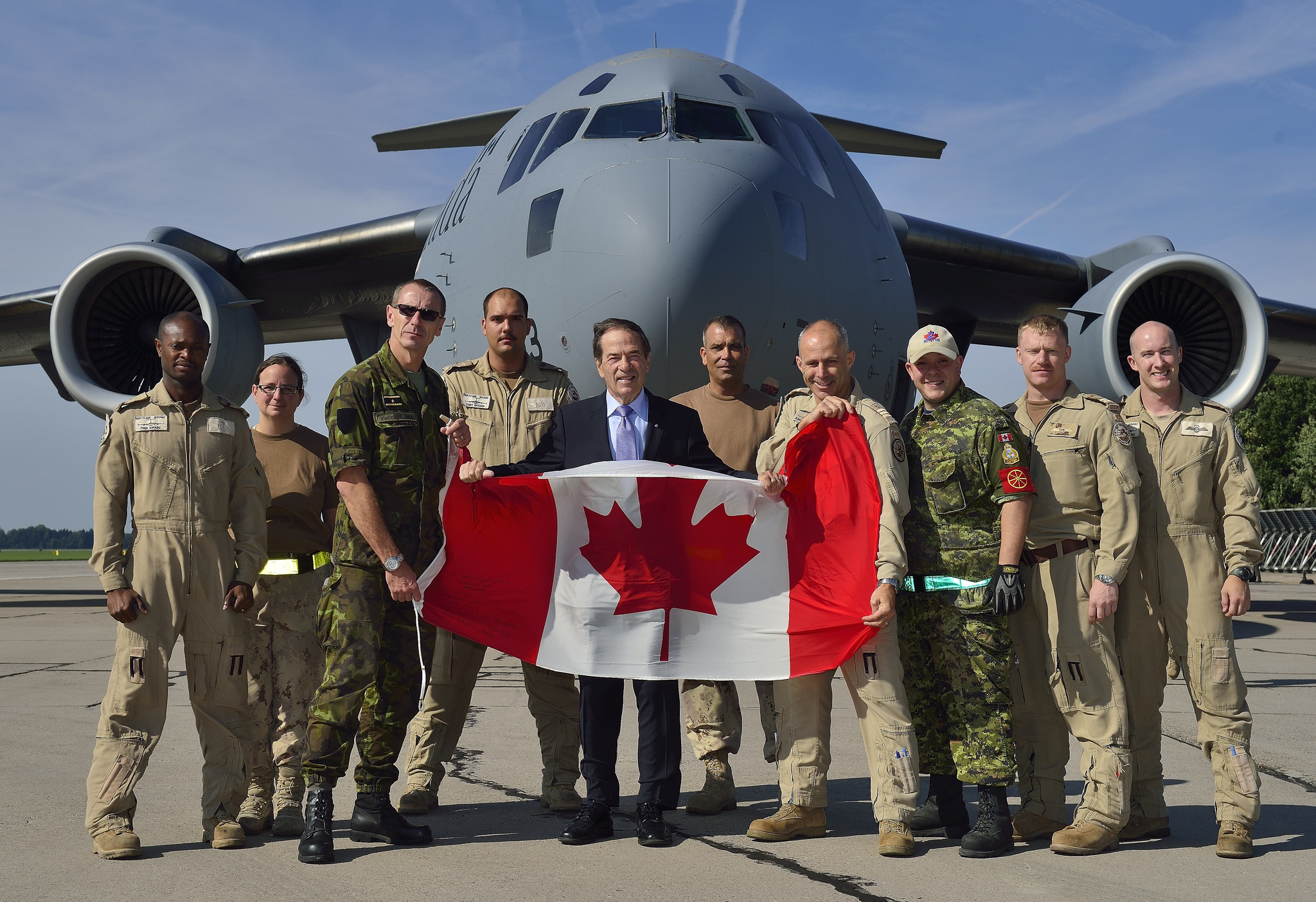 The Government of Canada announced that it will provide strategic airlift support for military supplies to Iraq from the Czech Republic. Under Operation IMPACT, the Canadian Air Task Force Iraq will begin operating from the Czech Republic, delivering Eastern European small-arms ammunition to Iraq to assist the Iraqi security forces protect civilians from the terrorist threat presented by the Islamic State of Iraq and the Levant (ISIL). Canadian Forces Photos / Flickr.