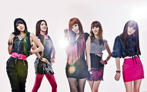 KPop girl group 4Minute (Facebook photo)