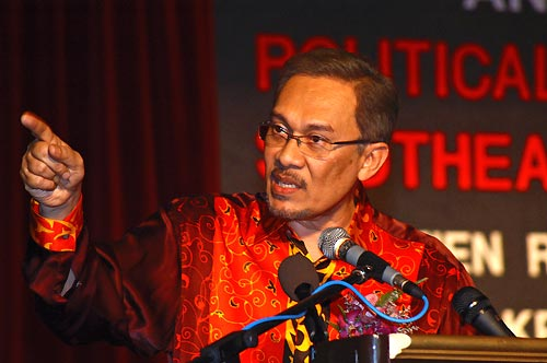 Malaysian opposition leader Anwar Ibrahim. LensaMalaysia / Wikimedia Commons.
