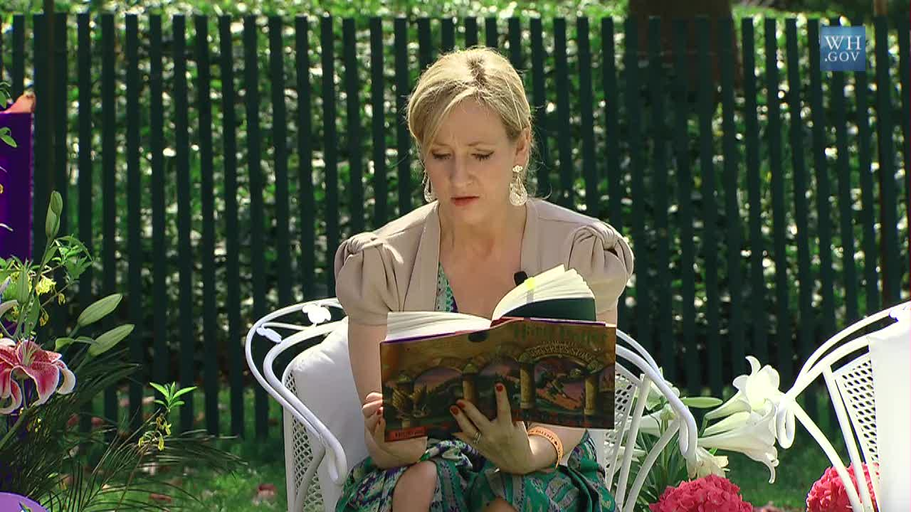 J. K. Rowling. Executive Office of the President.