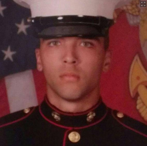 U.S. Marine Joseph Scott Pemberton (Facebook photo)