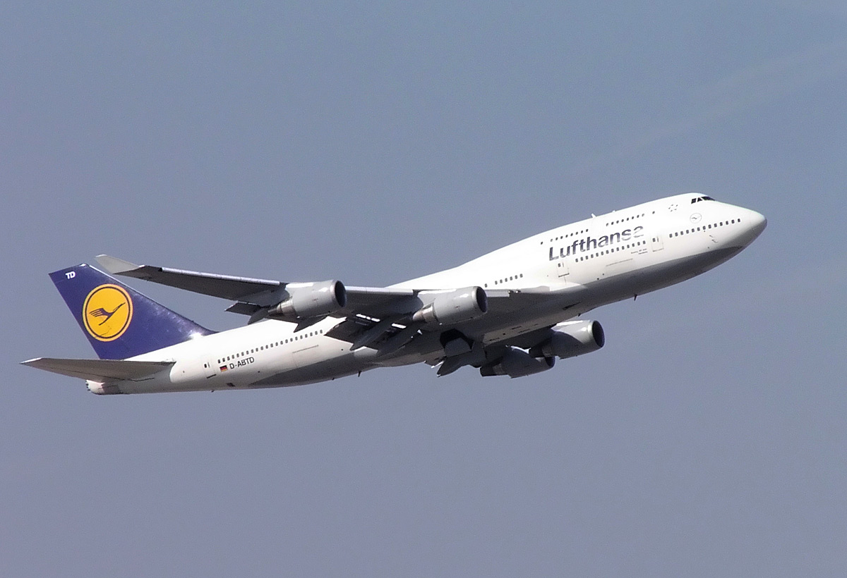 Lufthansa is the flag carrier of Germany and also the largest airline in Europe. Arcturus / Wikimedia Commons.