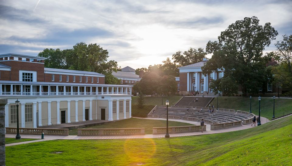 University of Virginia's McIntire Amphitheatre (Photo courtesy of UVA's Facebook page)