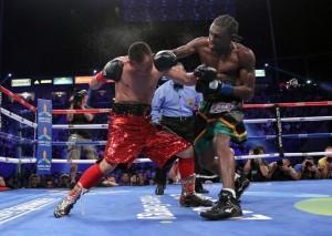 Nicholas Walters defeats Nonito Donaire (Photo courtesy of Walters' Facebook fan page)