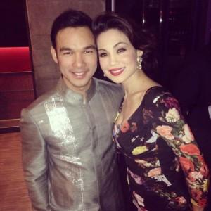 Mark Bautista and Natalie Mendoza. Facebook Photo