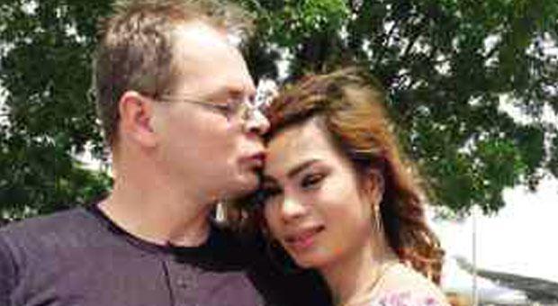 Jennifer Laude with German boyfriend Marc Sueselbeck
