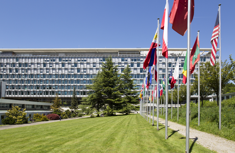 World Health Organization headquarters (Martin Good / Shutterstock)