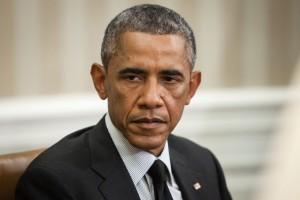 US President Barack Obama during an official meeting with the President of Ukraine Petro Poroshenko in Washington, DC  (Mykhaylo Palinchak / Shutterstock)