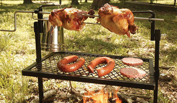 Rotisserie and Spit Grill / Amazon.