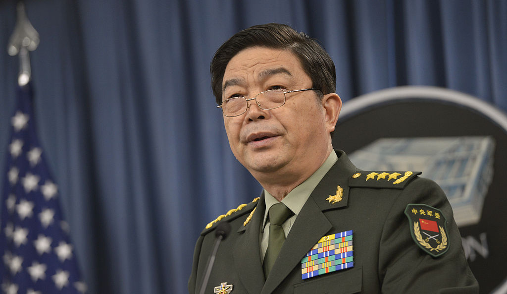 China's Minister of National Defense Gen. Chang Wanquan. Chuck Hagel / Flickr.