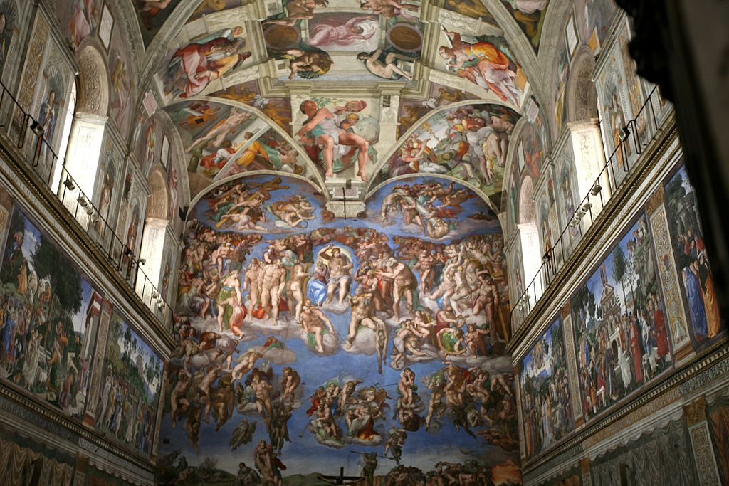 The Sistine Chapel. Alex Proimos / Flickr.