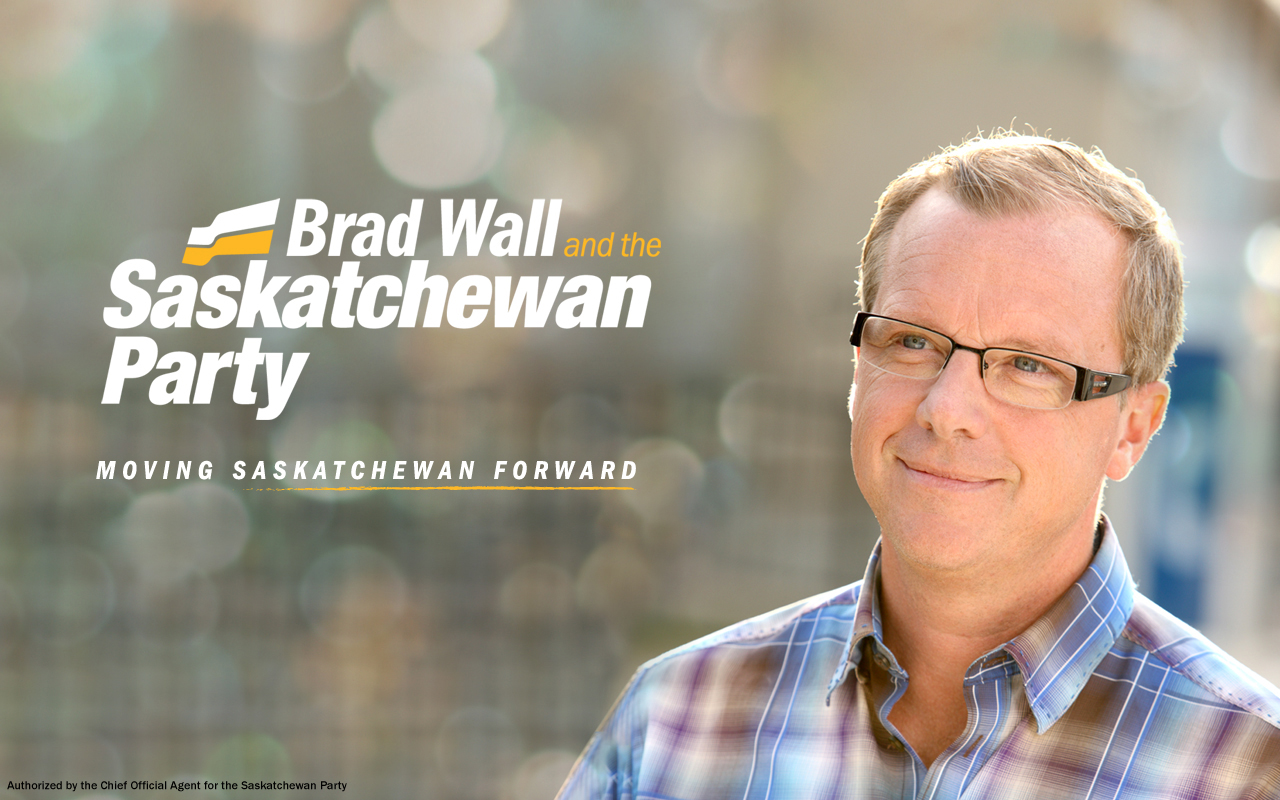 Saskatchewan Party Premier Brad Wall. saskparty.com