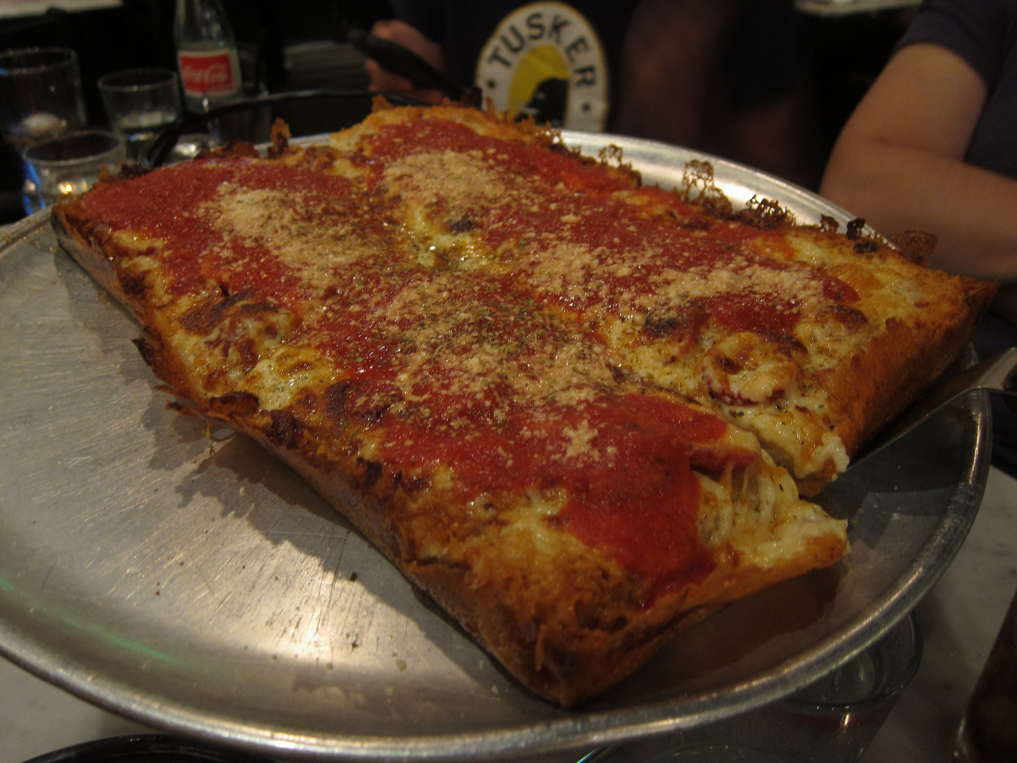 Pizza from Tony's Pizza. Daniel Zemans / Flickr.