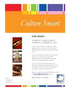 2014-1011 Culture Smart [Mika]