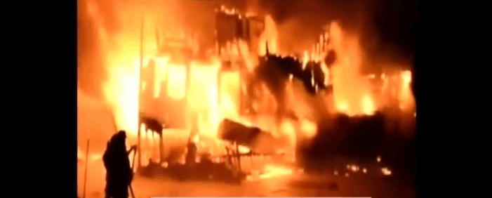 The L'Isle-Verte nursing home fire took place around 12:35 a.m. on January 23, 2014 at the Résidence du Havre nursing home in L'Isle-Verte, Quebec, Canada, killing an estimated thirty-two people and injuring fifteen others. Screenshot from Youtube.