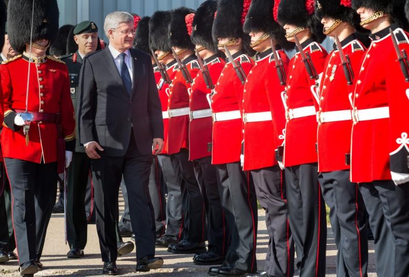 Prime Minister Stephen Harper. pm.gc.ca