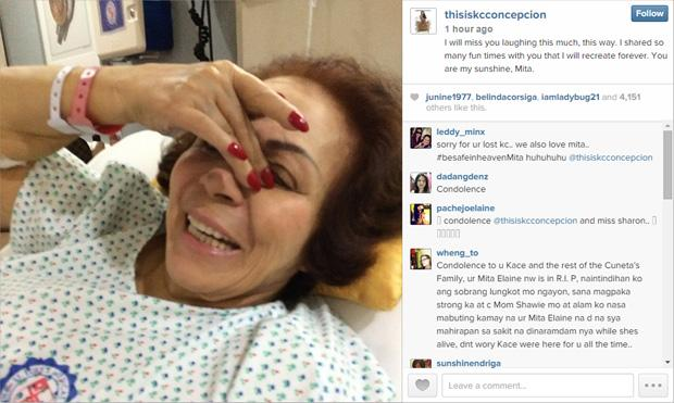 Post by granddaughter, KC Concepcion
