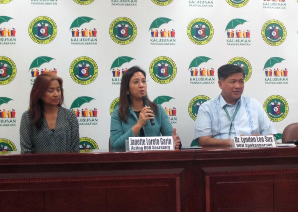 DOH Secretary Janette Garin (PNA Photo)