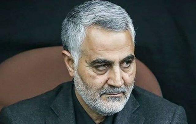 Iranian general Ghasem Soleimani (Screengrab from BBC Newsnight footage)