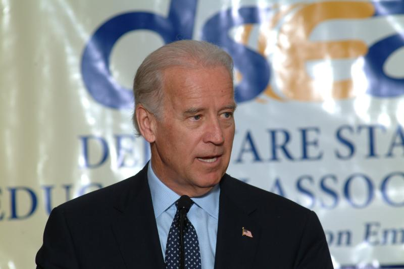U.S. Vice-President Joe Biden. Office of United States Senator Joe Biden.