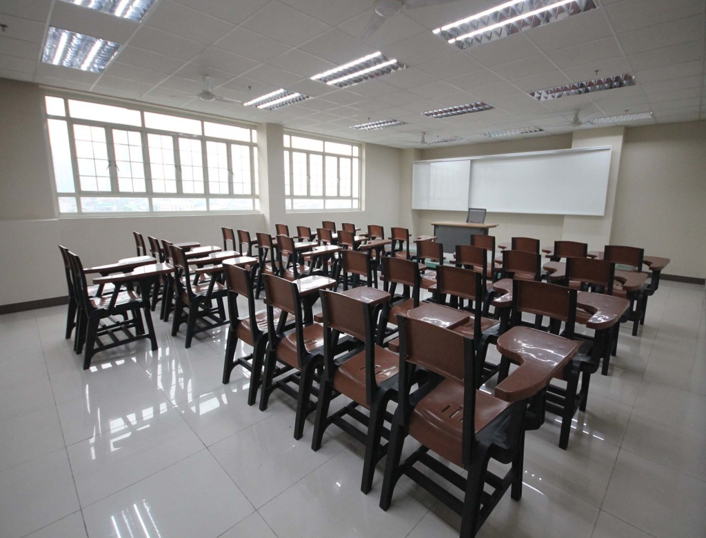 One of the classrooms inside Makati Science High School (PNA photo by Avito C.Dalan)