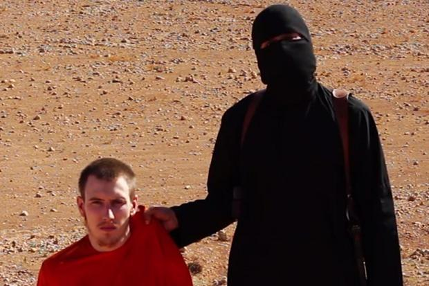 Peter Kassig (Screenshot courtesy of Pamela Geller)
