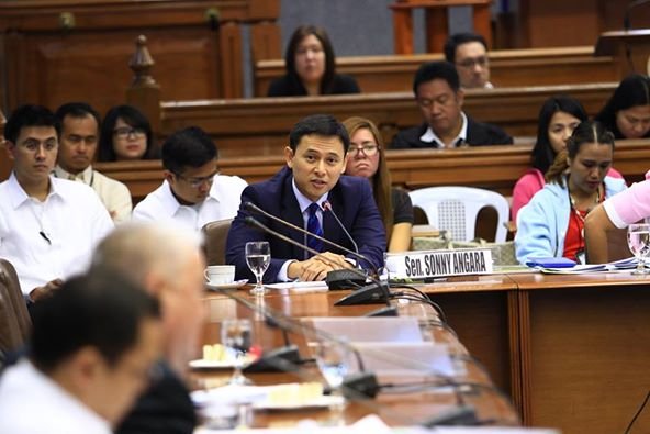 Sen. Sonny Angara (Facebook photo)