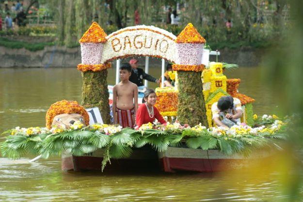 Panagbenga float (Facebook photo)