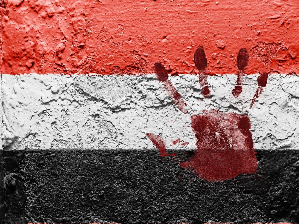 yemen flag violence terrorism danger