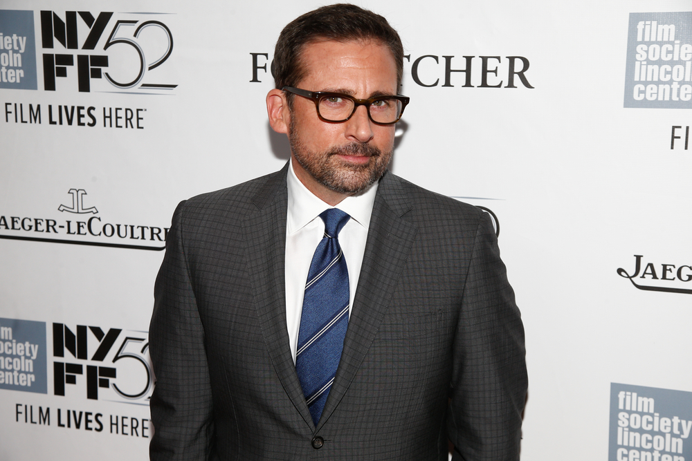 "Actor Steve Carell attends the ""Foxcatcher&qu ot; premiere at the 52nd New York Film Festival at Alice Tully Hall on October 10, 2014 in New York City. (Debby Wong / Shutterstock)"