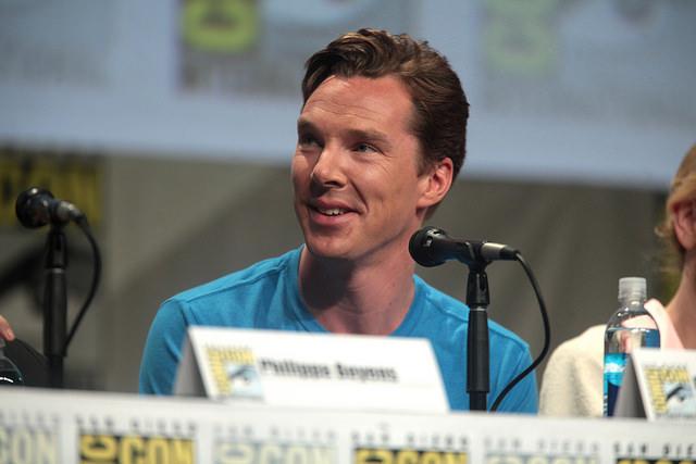 Benedict Cumberbatch. Gage Skidmore / Flickr.