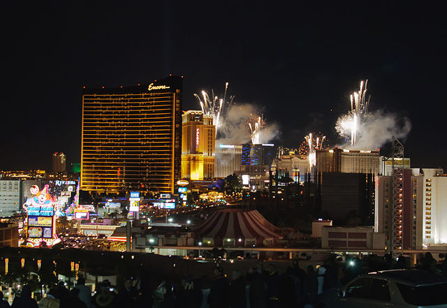 New Year 2013 in Las Vegas. InSapphoWeTrust / Flickr.