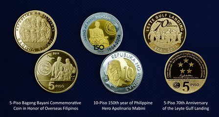 New BSP commemorative coins
