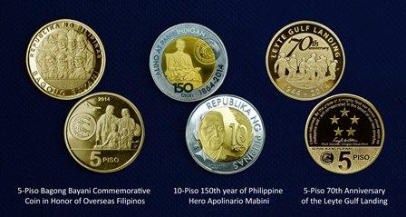 New BSP commemorative coins