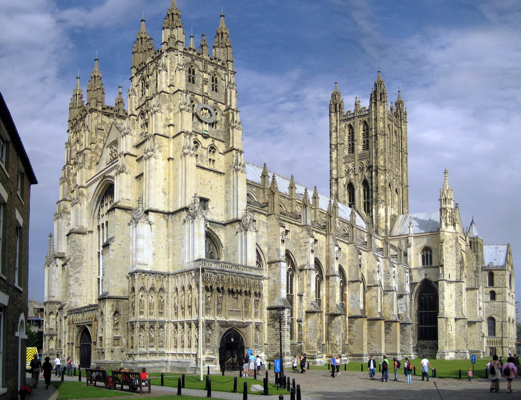 Church of England, Canterbury Cathedral (Wikipedia photo)
