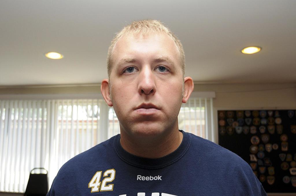 Officer Darren Wilson (Photo courtesy of NBC footage)