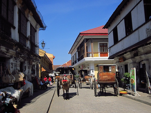 Calle Crisologo, Vigan City (Ching Dee / PCI)