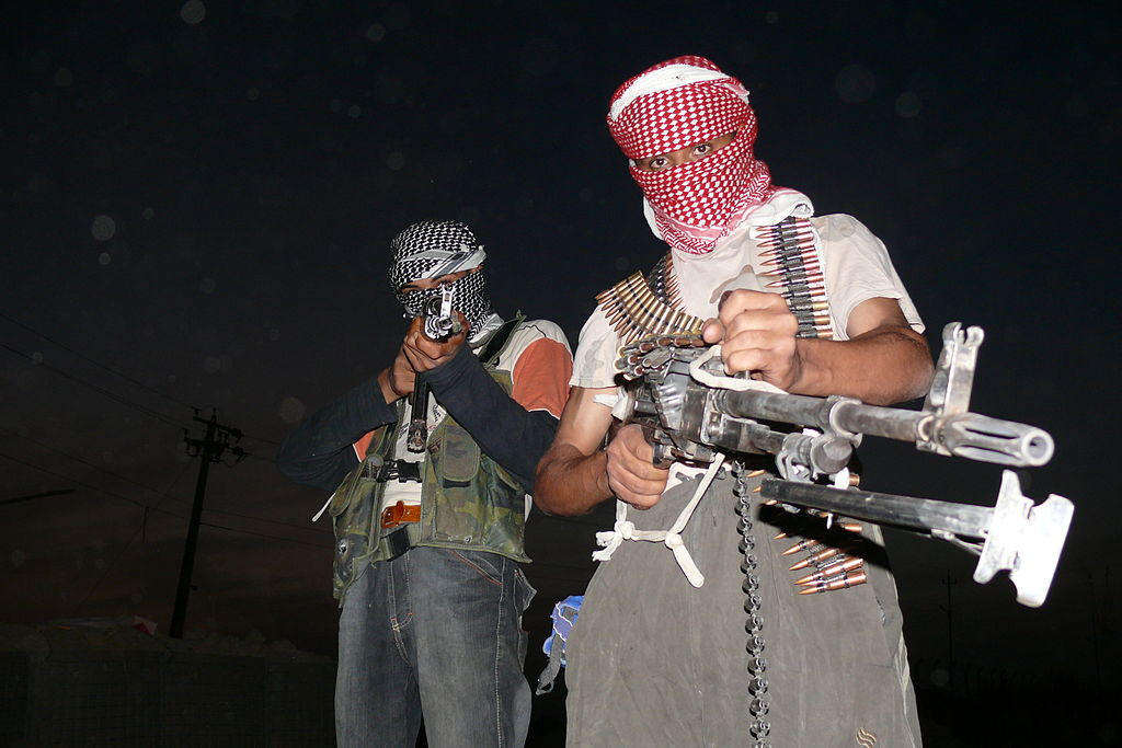 ISIL insurgents (Wikipedia photo)