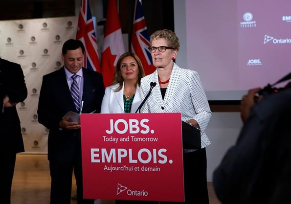 Kathleen Wynne (Facebook photo)