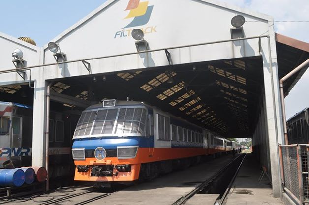 Philippine National Railway premiere train (Photo courtesy of PNR official Facebook page)