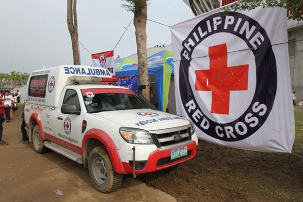 Photo courtesy of the Philippine Red Cross' Facebook page