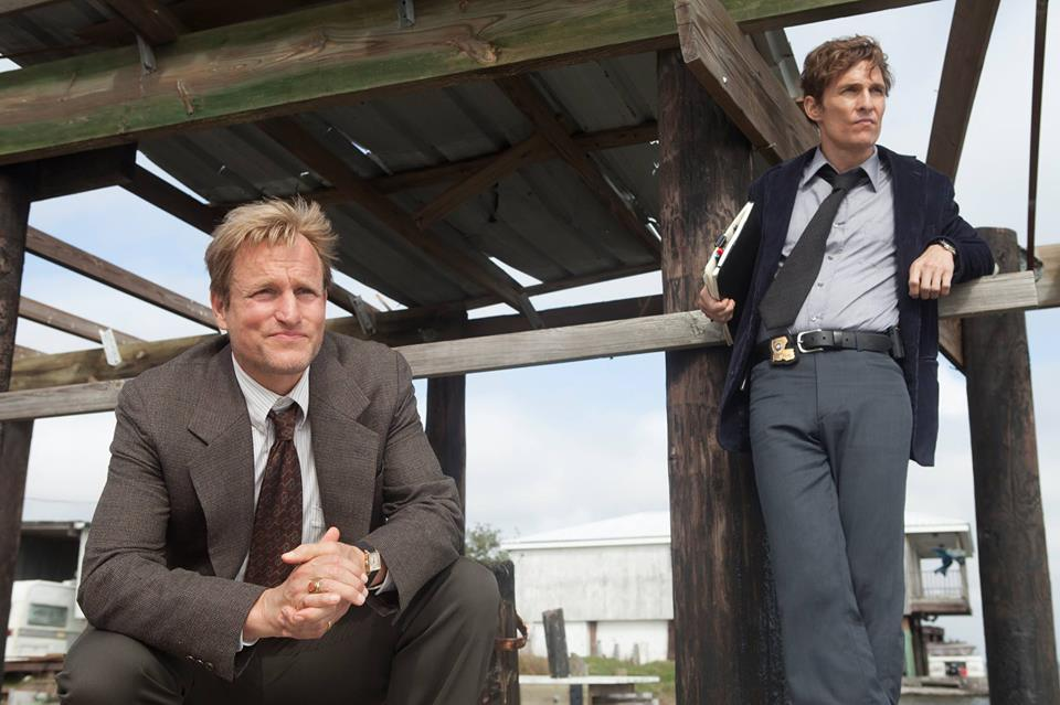 'True Detective' starring Matthew  McConaughey and Woody Harrelson (official Facebook photo)
