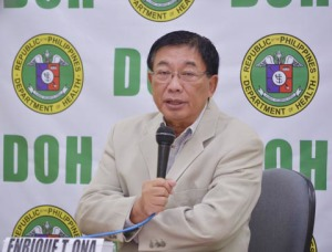 Health Sec. Enrique T. Ona (photo courtesy of doh.gov.ph)