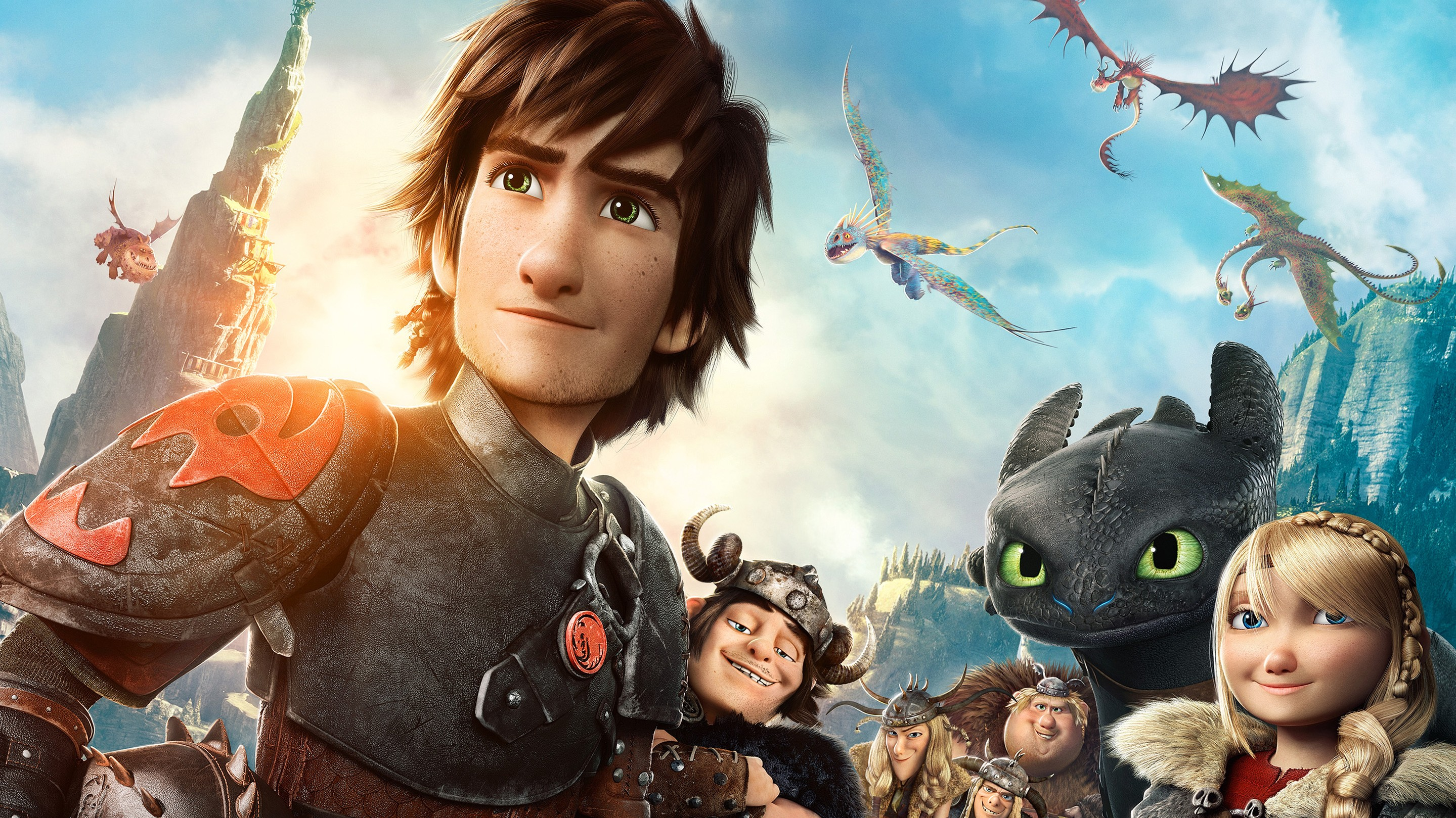 How to Train Your Dragon 2 is a 2014 American 3D computer-animated action fantasy film produced by DreamWorks Animation and distributed by 20th Century Fox, loosely based on the book series of the same name by Cressida Cowell.