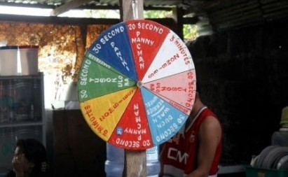File photo from the Commission on Human Rights showing the 'wheel of torture' used by a police unit on its detainees. Interaksyon.