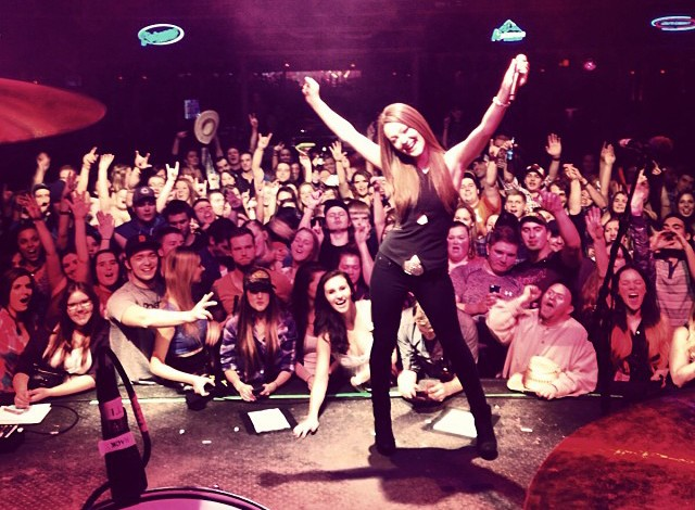 Kira Isabella in Winnipeg (photo courtesy of Isabella's Facebook page)