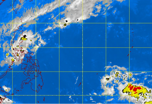 Satellite image from meteopilipinas.gov.ph