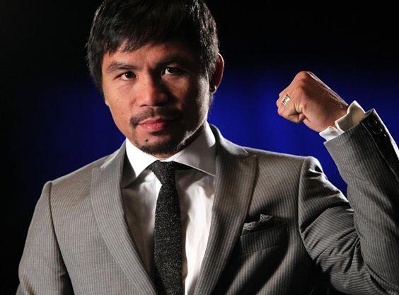 8-Division Boxing Champion and Sarangani Representative Manny 'Pacman' Pacquiao (Facebook photo)