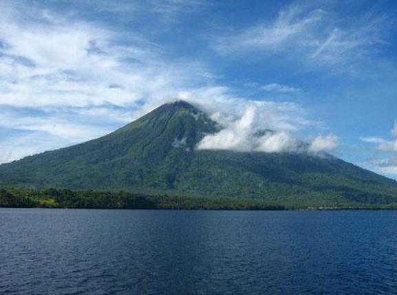 Mount Gamalama, Indonesia (Photo courtesy of Indonesia Tourism)