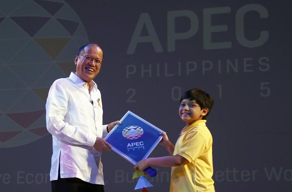 President Benigno Aquino III led the opening ceremonies of APEC 2015 (Malacanang Photo Bureau)